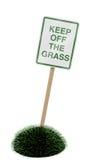 daleko trawy utrzymanie Zdjęcie Stock