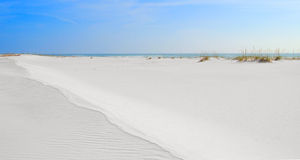 dalekosiężny wydm piasku Zdjęcie Stock