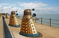 Daleks invade planet earth Stock Image