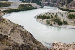 Dalen av den Chuya floden Royaltyfria Bilder