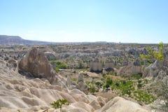Dalen av förälskelse i den Cappadocia regionen Fotografering för Bildbyråer