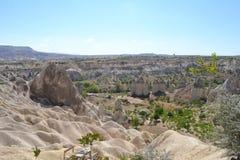 Dalen av förälskelse i den Cappadocia regionen Royaltyfria Bilder