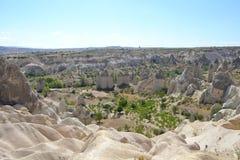 Dalen av förälskelse i den Cappadocia regionen Royaltyfri Bild