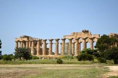 Dalen av templen av Agrigento - Italien 01 Arkivbilder