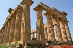 Dalen av templen av Agrigento - Italien 06 Arkivfoton
