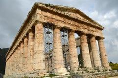 Dalen av templen av Selinunte - Italien 04 Royaltyfria Bilder