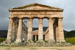Dalen av templen av Selinunte - Italien 06 Arkivfoto