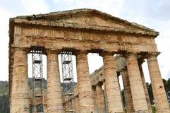 Dalen av templen av Selinunte - Italien 08 Arkivfoton
