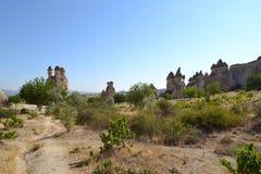 Dalen i den Cappadocia regionen Royaltyfri Foto