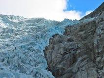 Dalend ijs stock afbeeldingen