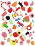 Dalend Suikergoed royalty-vrije stock foto