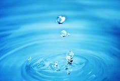Dalend water Stock Afbeeldingen