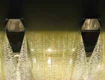 Dalend water Stock Fotografie