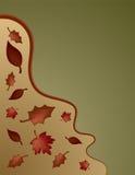 Dalende bladeren vector illustratie