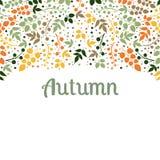 Dalende de bladerenachtergrond van de herfst kan worden gebruikt voor Royalty-vrije Stock Foto's