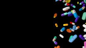 Dalende Pillen vector illustratie