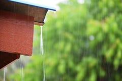 Dalende regen Stock Foto's