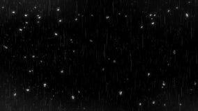 Dalende Regen & Waterdalingen op de Bekleding V2 van de Glaslijn stock videobeelden