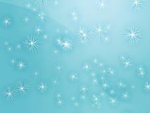 Dalende sneeuw Royalty-vrije Stock Foto's