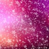 Dalende sneeuwachtergrond Abstract sneeuwvlokpatroon Stock Afbeelding