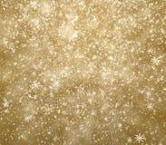 Dalende sneeuwvlokken Royalty-vrije Stock Foto