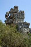 Dalende stenen Stock Fotografie