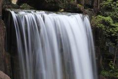 Dalende waterval zoals zijde Royalty-vrije Stock Afbeelding