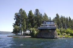 DAlene Idaho de Coeur de lac près de Spokane Washington Photos stock