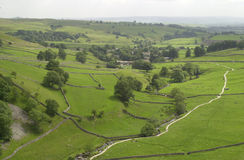 Dales de Yorkshire Fotografia de Stock Royalty Free