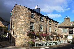 Dalesman Country Inn, Sedbergh, Cumbria Royalty Free Stock Photos