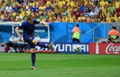 Daley Blind Coupe du monde 2014 Royalty Free Stock Photo