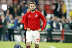 Daley Blind  Manchester Unied Royalty Free Stock Images