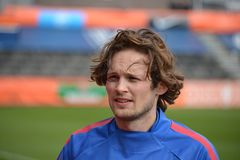Daley Blind. Player of Manchester United and the Dutch National Soccer Team Royalty Free Stock Photography