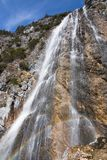 Dalfazer Wasserfall fotografia stock