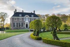 DALFSEN, holandie, - Maj 03, 2015: Średniowieczny nieruchomość dom Dalfse Obrazy Stock