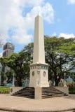 Dalhousie Obelisk - Singapore Stock Images