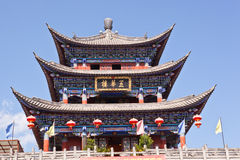 Dali ancient city gate tower Royalty Free Stock Images