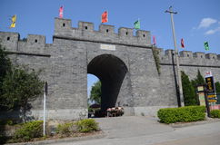 Dali ancient city gate tower. City gate tower in Dali ancient city Yunnan province,China Stock Photos