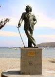 DALI - Cadaques - Spain. Salvador Dalis sculpture in Cadaques in Costa Brava in spain Royalty Free Stock Photography