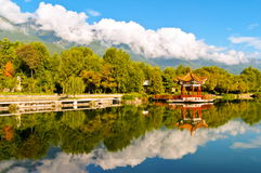 Dali Cangshan Mountain scene Stock Images