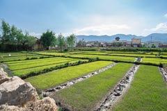Dali city in China. Village in the dali yunnan china Royalty Free Stock Images