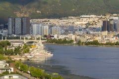 Dali City (Xiaguan) на озере erhai, Юньнань Китае Стоковые Изображения