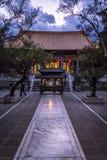 Dali Confucian Temple, Dali Old Town, Yunnan province, China royalty free stock photo