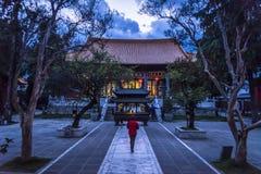 Dali Confucian Temple, Dali Old Town, provincia de Yunnan, China foto de archivo