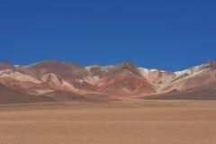 Dali desert in national reserve park Eduardo Avaroa, Bolivia.  Stock Images