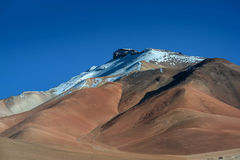 Dali desert in national reserve park Eduardo Avaroa, Bolivia.  Stock Image