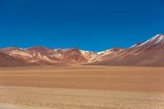 Dali desert in national reserve park Eduardo Avaroa, Bolivia.  Stock Photography