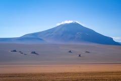 Dali desert in sud Lipez reserva, Bolivia Stock Photography