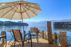 Dali erhai lake scenery Stock Image