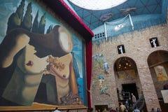 dali figueres博物馆西班牙 免版税库存照片